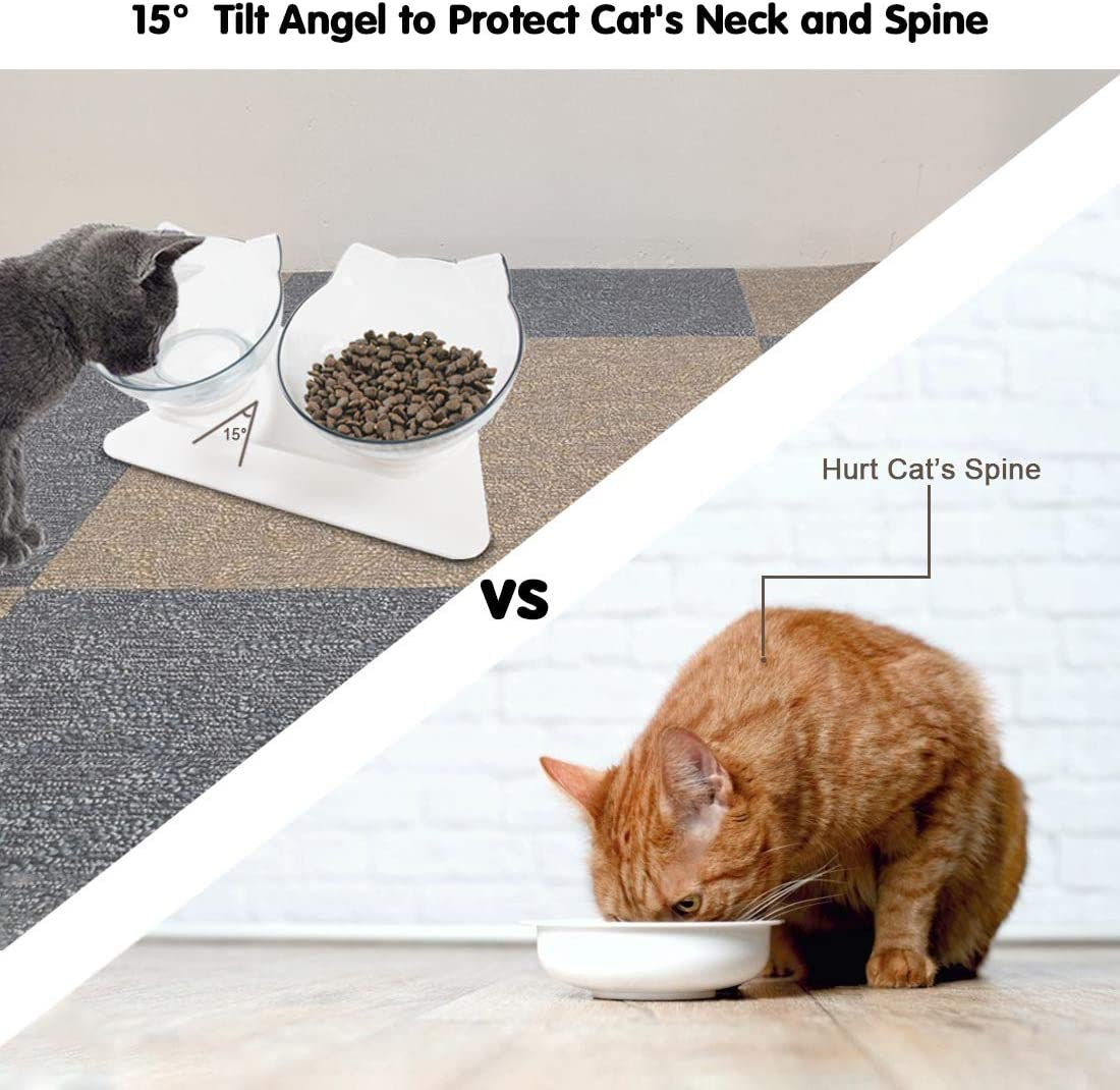 ORTHOPEDIC ANTI-VOMITING CAT FEEDER