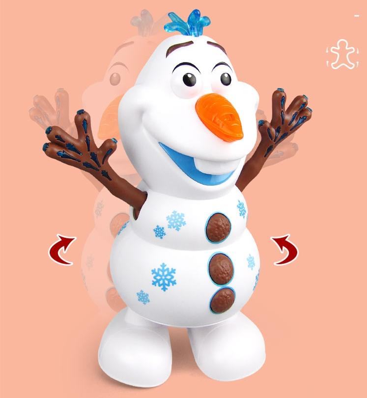 Electric Dancing Music Snowman Toy