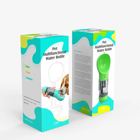 At Smilelush, we engineer multifunctional devices for your pets. Our aim to provide an easy, affordable shopping experience while keeping customer satisfaction paramount. Our 4-in-1 Practical and Compact Multifunctional Pet Water Bottle has been designed to include a food cup, litter-bag dispenser and a poop shovel.