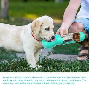 7-in-1 Multifunctional Pet Water Bottle