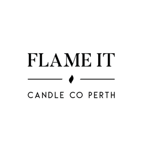 Flame it candle co logo
