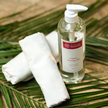 Coconut Tantric Massage Oil - The Ananda Shop
