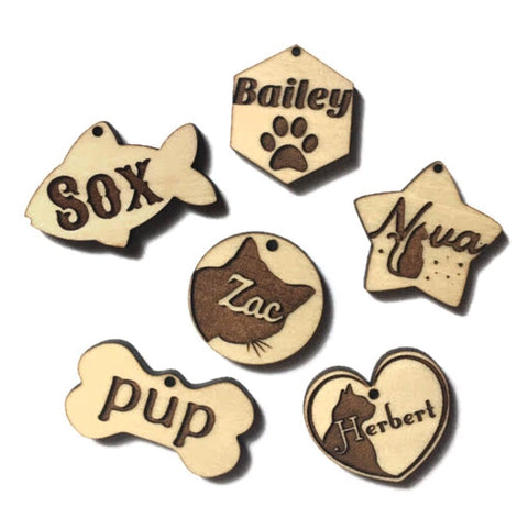 Wood Tags Coming Soon