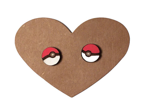 Pokéball Stud Earrings