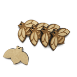 Laser Cut Bee Charms 10 Pack - NekoCreations