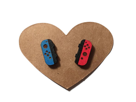 Nintendo Switch Joycon Stud Earrings