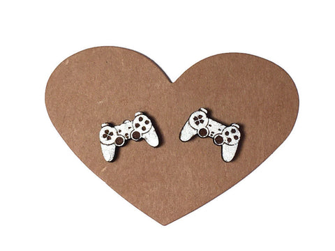 Video Game Controller Stud Earrings
