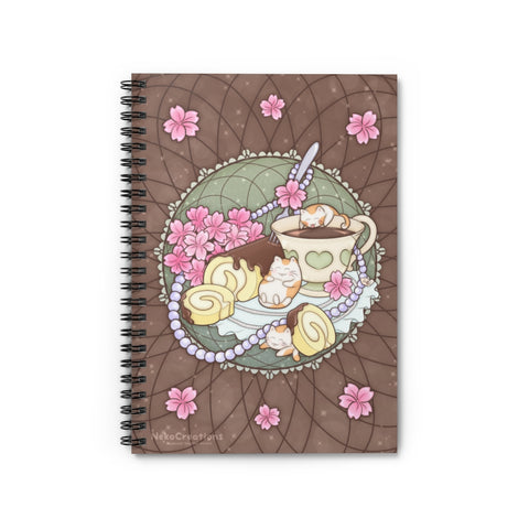 Let Them Eat Cake Spiral Notebook