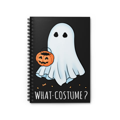 What Costume Spiral Notebook