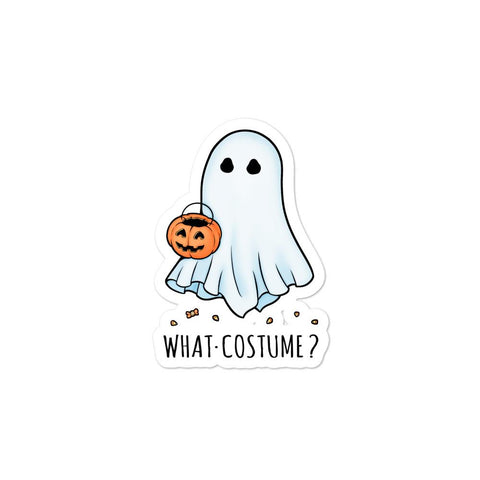 What Costume Sticker - NekoCreations