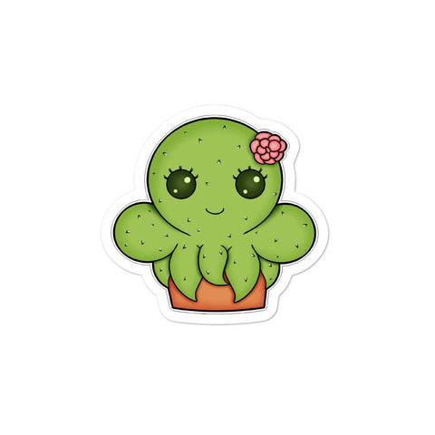 Cactipuss Sticker - NekoCreations