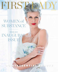 first lady magazine blair nadeau bridal adornments 2019