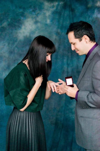 surprise engagement wedding proposal blair nadeau millinery - whitney heard photography