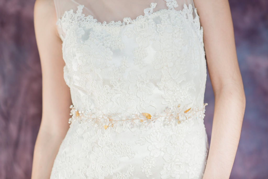 Dress Belts & Sashes – Blair Nadeau Bridal Adornments