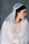 Pure White Super Soft Vintage Inspired Juliet Cap Veil with Blusher - Made in Toronto Ontario Canada - Blair Nadeau Bridal - Whitney Heard Photography