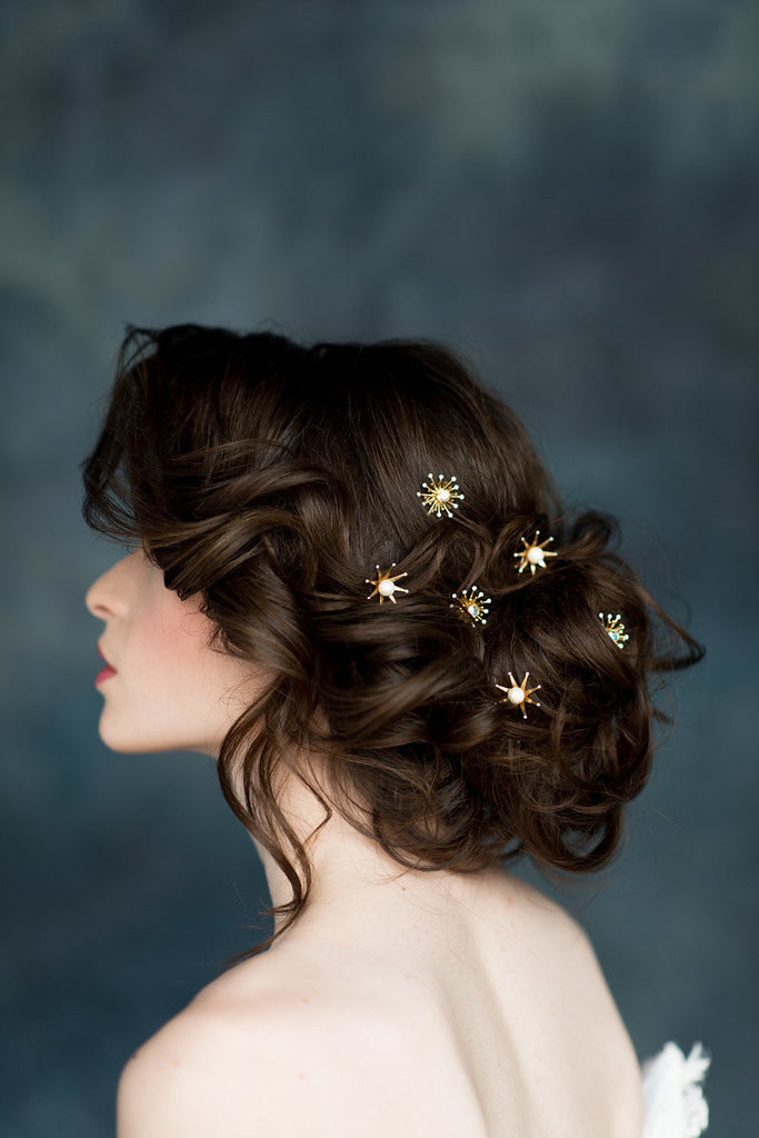 LUNA Star Hair Pins - Set of 3 (More Colours)