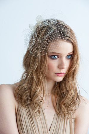 LADY PILLBOX Mini Birdcage Veil (More Colours)