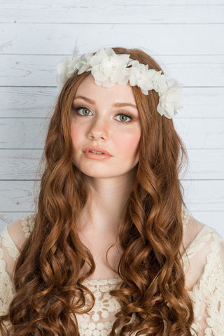 FARRAH Silk Flower Crown