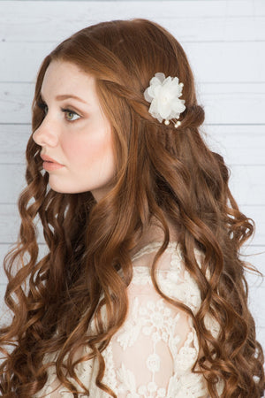 CLARA Flower Hair Clip  (More Colours)