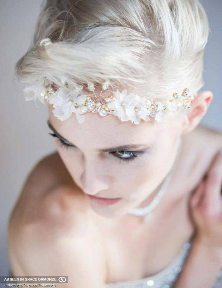 KIMBERLY Floral Headpiece
