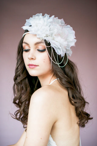 AMANDA Silk Floral Crown