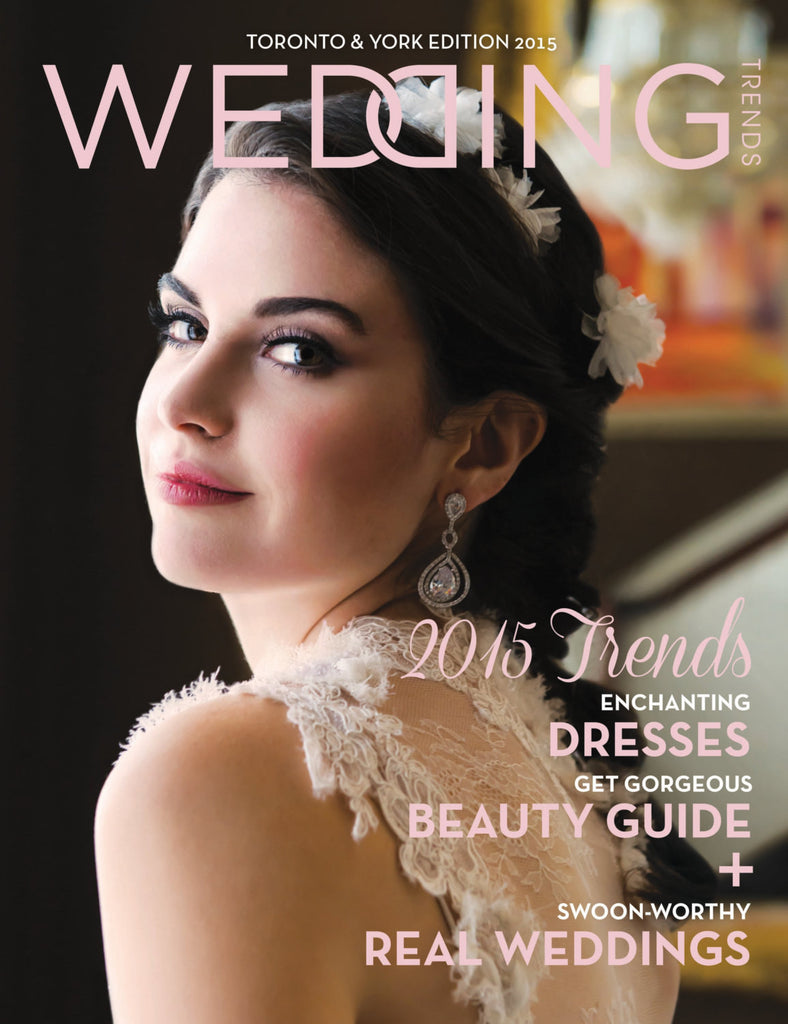 Ivory silk flower crown - Handmade in Toronto Canada - Wedding Trends Magazine