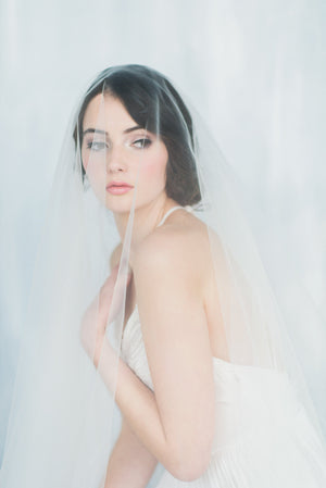 NATALIA Tulle Circle Drop Veil (More Colours & Lengths)