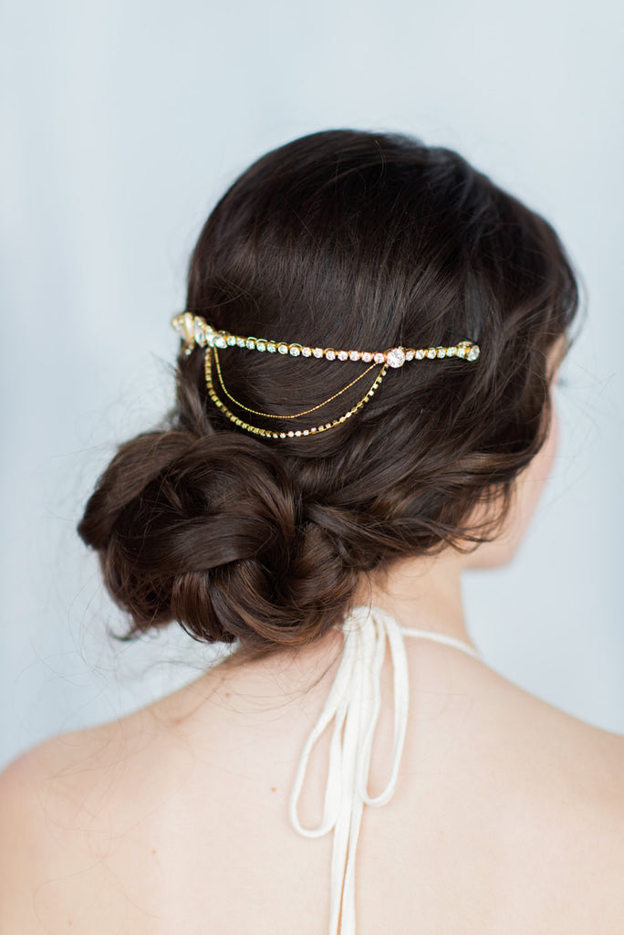 GISELLE Crystal Hair Chain (More Colours)