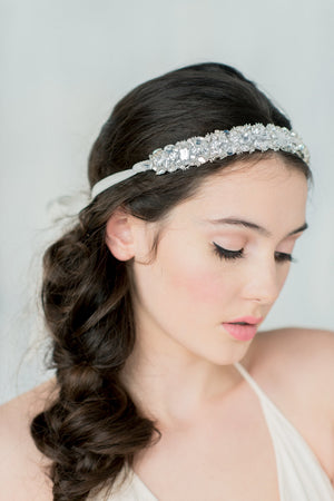SANSA Crystal Beaded Headband (More Colours)