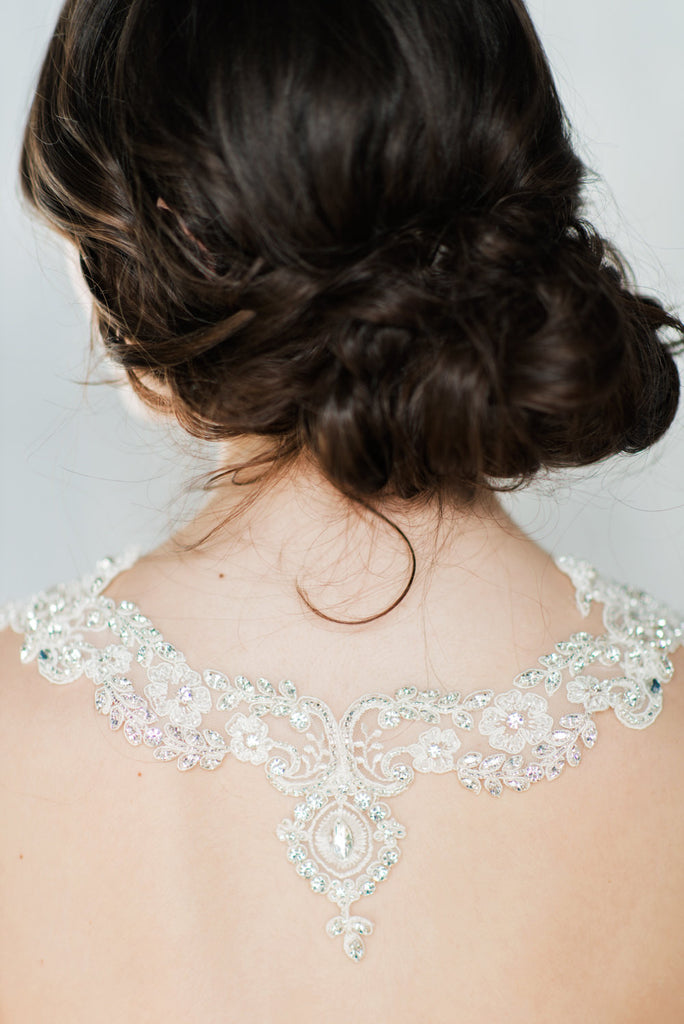 ZARA Lace Shoulder Necklace