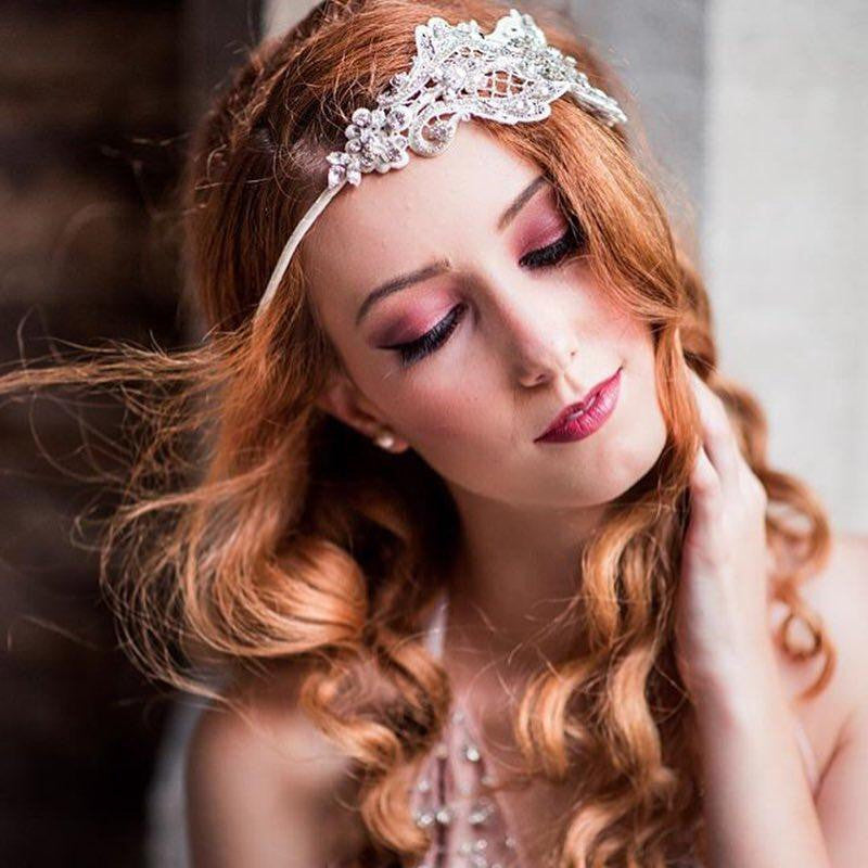 ANTONIA Crystal Lace Crown