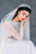 Off White Super Soft Vintage Inspired Juliet Cap Veil with Blusher - Made in Toronto Ontario Canada - Blair Nadeau Bridal - Whitney Heard Photography