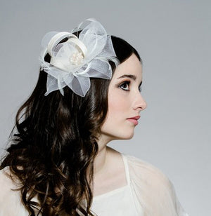 HELLENICA Bridal Fascinator  (More Colours)