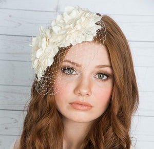 OLIVIA Bridal Flower Headpiece (More Colours)