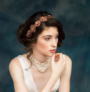 ROSEMARY Antique Rose Gold Crown