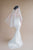 ivory pearl bridal veil with blusher - made in toronto ontario canada - blair nadeau bridal adornments - whitney heard photography