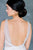 Rose Gold Vintage Freshwater Pearl Bridal Back Drop Necklace for Open & Low back wedding dresses - Made in Toronto Ontario Canada - Blair Nadeau Bridal - Whitney Heard Photography