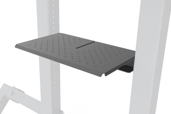AV Cart, Shelf, Black Grey | H491-BG