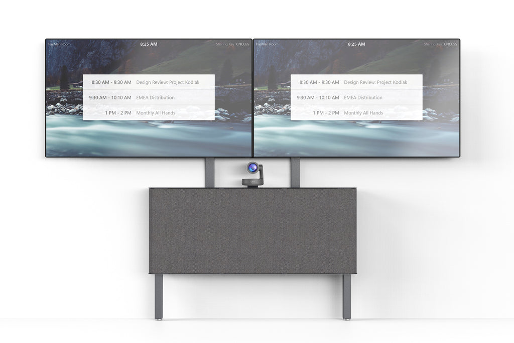 Dual Display Kit for AV Credenza | Made in USA