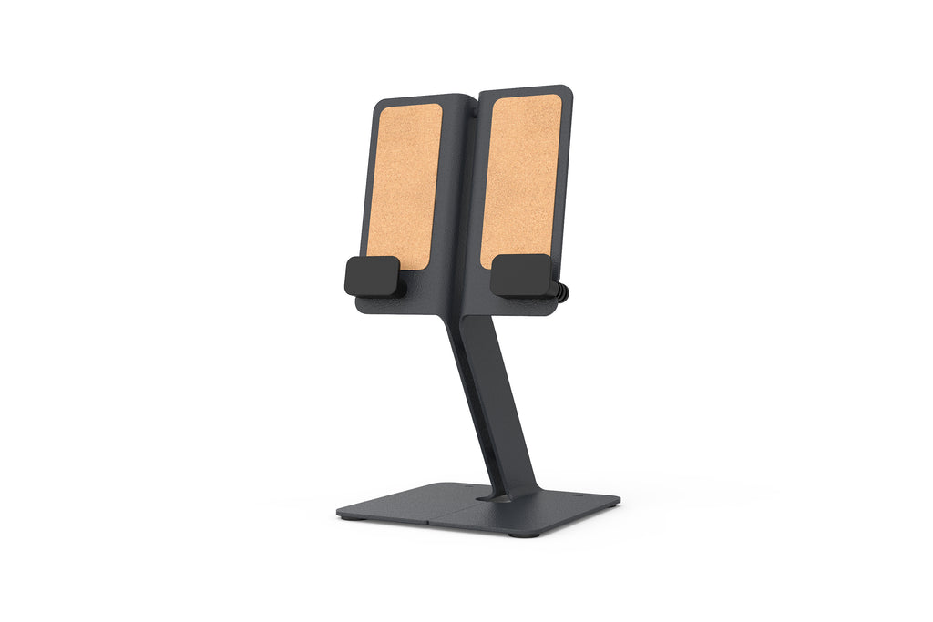 iPad Desk Stand, Black Grey | Modern iPad Stand