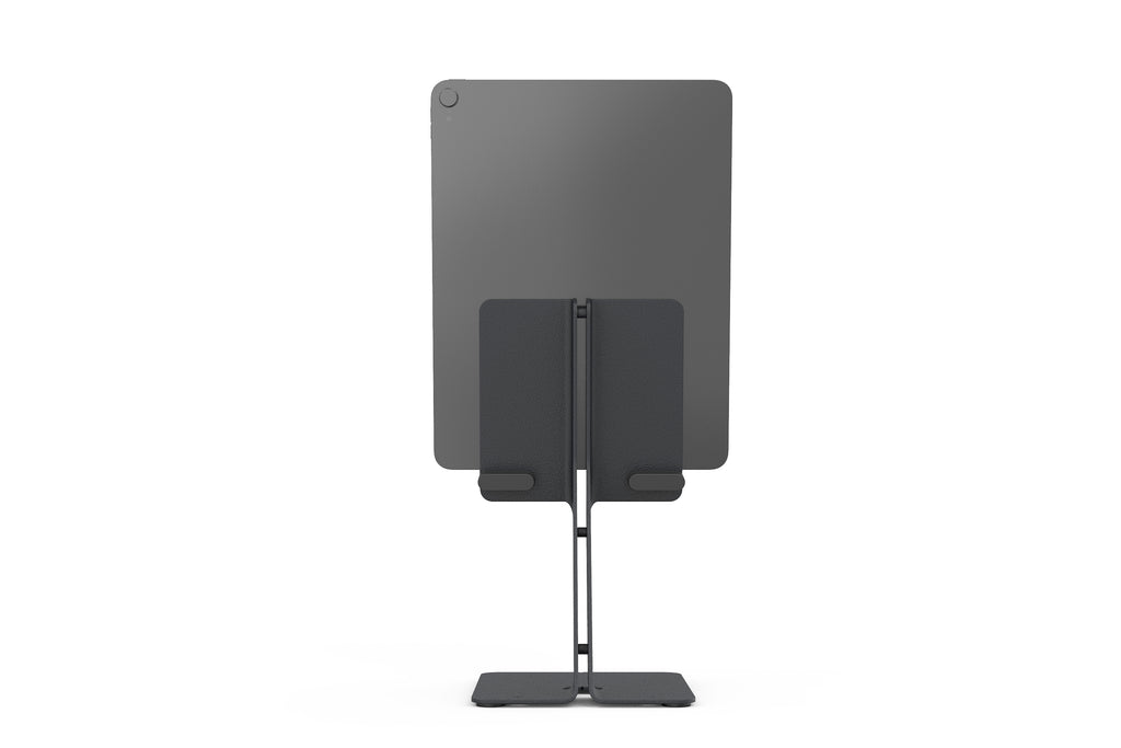 iPad Desk Stand, Black Grey | Simple Hardware