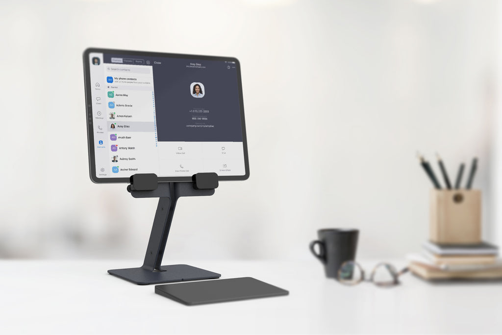 iPad Desk Stand, Black Grey | Made in Arizona