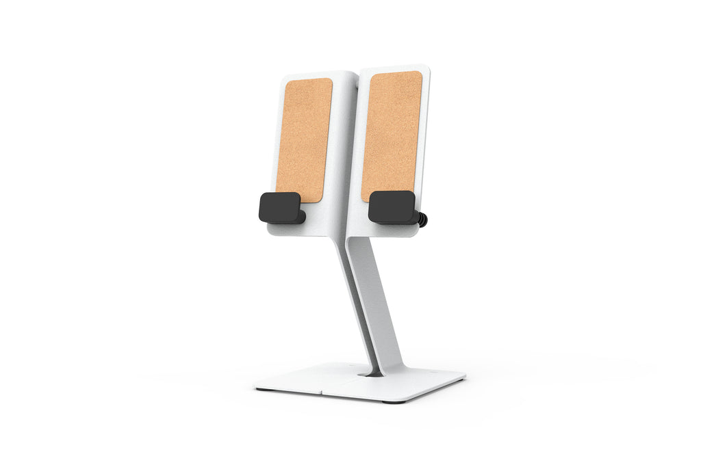 iPad Desk Stand, White | Made in USA