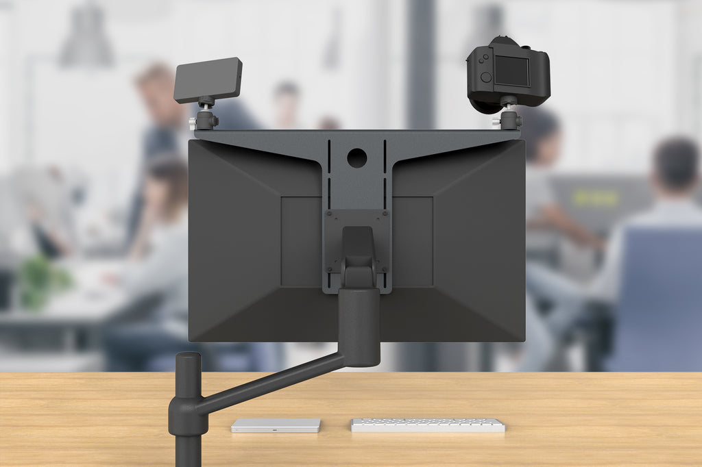 Camera Shelf for Monitor Arms