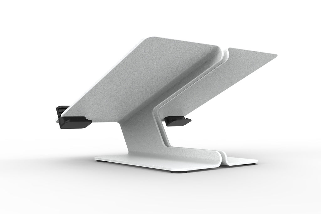 White MacBook Stand by Heckler