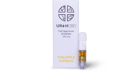 URTH CBD 300mg Personal Diffuser - Pineapple Express