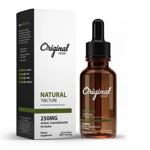 Natural Original Hemp Full Spectrum Tinctures - Boardwalk Elixir