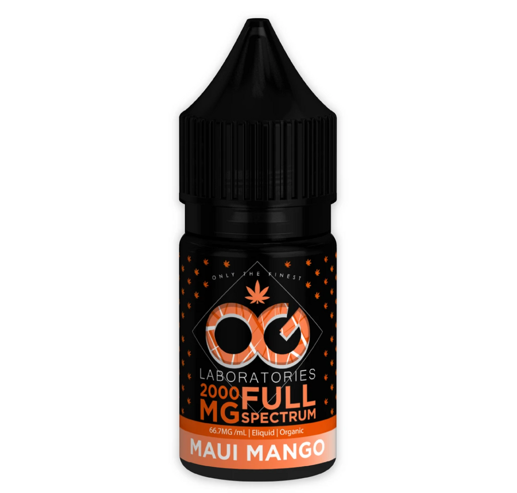 OG Labs Full Spectrum CBD E-Juice - Maui Mango