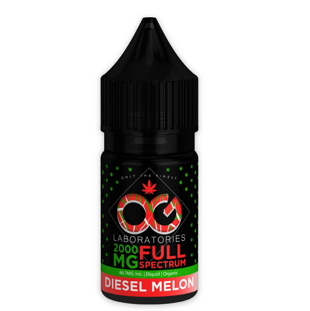 OG Labs Full Spectrum CBD E-Juice - Diesel Melon