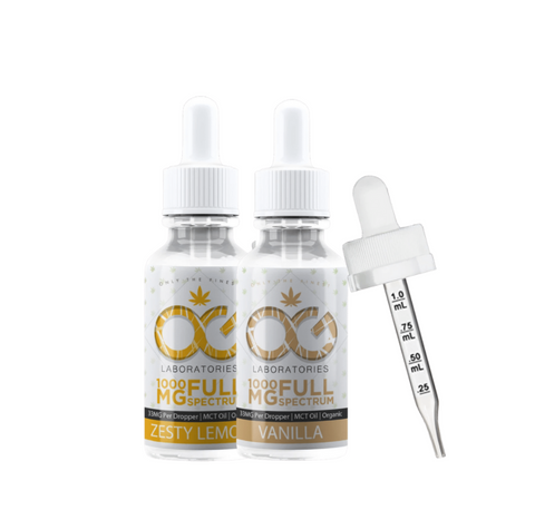 OG Labs Full Spectrum CBD Tincture - 1000mg
